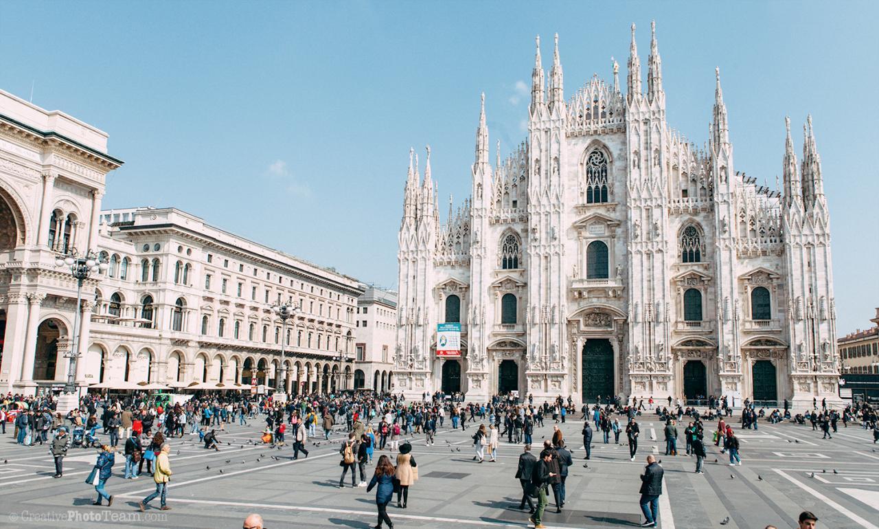 أفضل فنادق ميلانو للعرسان والعوائل وأفضل الاماكن السياحية في ميلانو